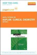 Clinical Chemistry - Elsevier eBook on Vitalsource (Retail Access Card)