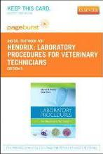 Laboratory Procedures for Veterinary Technicians - Elsevier eBook on Vitalsource (Retail Access Card)