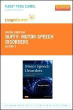 Motor Speech Disorders - Elsevier eBook on Vitalsource (Retail Access Card)