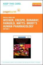 Brody's Human Pharmacology - Elsevier eBook on Vitalsource (Retail Access Card)