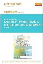 Part-Prioritization, Delegation, and Assignment - Pageburst E-Book on Kno (Retail Access Card)
