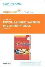 Saunders Handbook of Veterinary Drugs - Elsevier eBook on Vitalsource (Retail Access Card)
