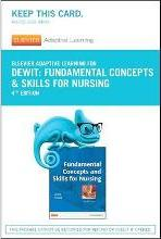 Elsevier Adaptive Learning for Fundamentals Concepts and Skills for Nursing (Access Card)