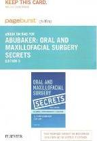 Oral and Maxillofacial Surgery Secrets - Elsevier eBook on Intel Education Study (Retail Access Card)