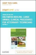 Large Animal Clinical Procedures for Veterinary Technicians - Elsevier eBook on Intel Education Study (Retail Access Card)