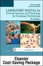Clinical Anatomy and Physiology for Veterinary Technicians - Text and Laboratory Manual Package