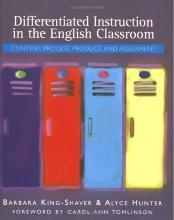 Differentiated Instruction in the English Classroom