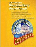 Social Studies 2005 Vocabulary Workbook Grade 5/6 Growth of a Nation