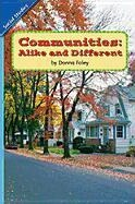 Social Studies 2006 Leveled Reader 6-Pack Grade 2.1c: Communities: Alike and Different