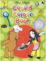 Play School Cook and Colour Book
