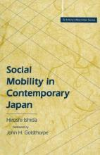 Social Mobility in Contemporary Japan