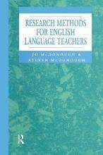 Research Methods for English Language Teachers
