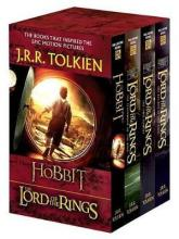 J.R.R. Tolkien 4-Book Boxed Set: The Hobbit and the Lord of the Rings (Movie Tie-In)