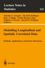 Modelling Longitudinal and Spatially Correlated Data