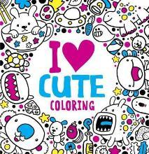 I Heart Cute Coloring
