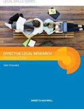 Effective Legal Research