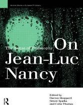 On Jean-Luc Nancy