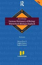 German Dictionary of Biology: Vol. 2