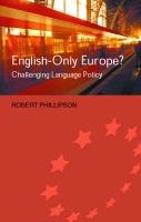 English-Only Europe?