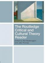The Routledge Critical and Cultural Theory Reader