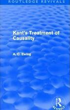 Kant's Treatment of Causality