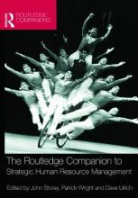 The Routledge Companion to Strategic Human Resource Management