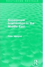 Superpower Intervention in the Middle East