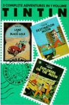 """Adventures of Tintin: """"Land of Black Gold"""", """"Destination Moon"""" and """"Explorers on the Moon"""" v. 5"""