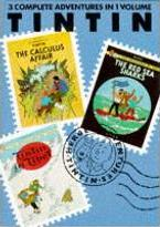 """Adventures of Tintin: """"Calculus Affair"""", """"Red Sea Sharks"""" and """"Tintin in Tibet"""" v. 6"""