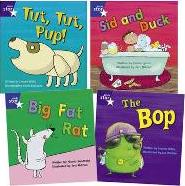 Learn at Home:Star Phonics Pack 2 (4 Fiction Books)