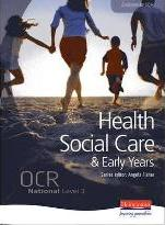 OCR National Level 3 Health and Social Care Student Book