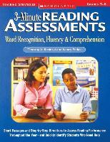 3-Minute Reading Assessments Prehension