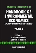 Handbook of Environmental Economics: Volume 2