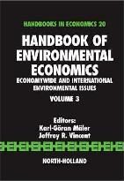 Handbook of Environmental Economics: Volume 3
