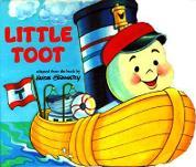 Little Toot Board Book