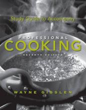Professional Cooking 7E College Version Study Guide