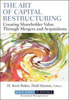 The Art of Capital Restructuring