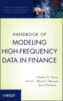Handbook of Modeling High-Frequency Data in Finance