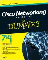 Cisco Networking All-In-One for Dummies (R)