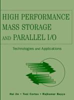High Performance Mass Storage and Parallel I/O