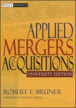 Applied Mergers and Acquisitions University Edition