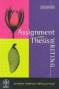 Assignment & Thesis Writing 4E
