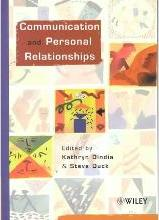 Communication and Personal Relationships
