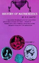 History of Mathematics: General Survey of the History of Elementary Mathematics v. 1
