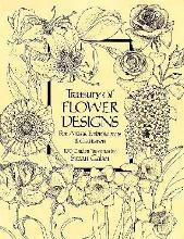 A Treasury of Flower Designs for Artists, Embroiderers and Craftsmen