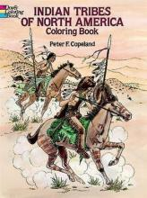 Indian Tribes of North America Colouring Book