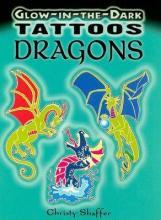Glow In The Dark Tattoos Dragons Christy Shaffer 9780486468013