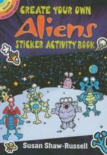 Create Your Own Aliens Sticker Activity Book