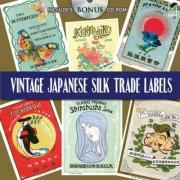 Vintage Japanese Silk Trade Labels