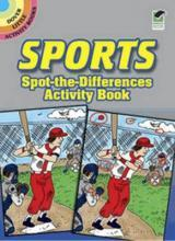 Sports Spot-The-Differences Activity Book